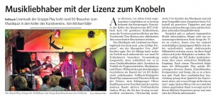 Musik-Quiz Fellbach Nachbericht Fellbacher Zeitung